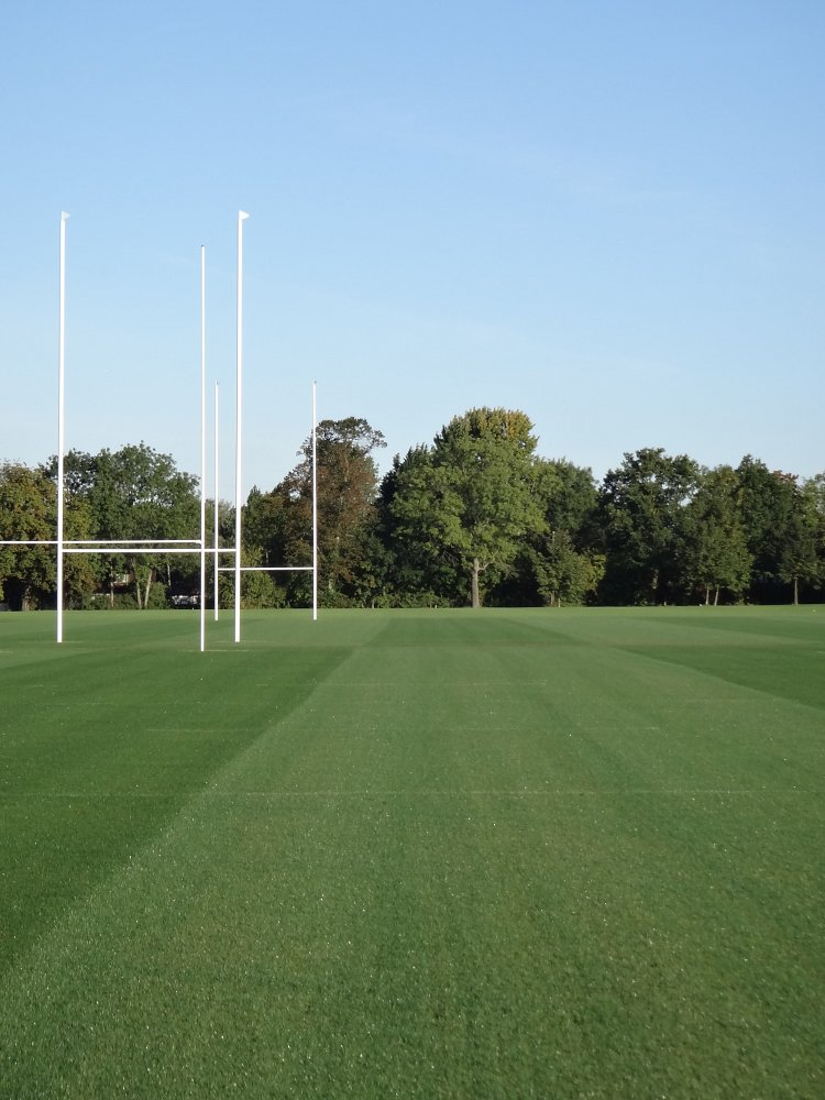 Rugby Pitch Drainage, Construction