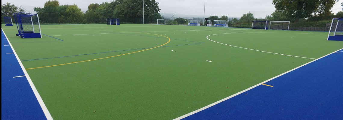 Synthetic Hockey pitch construction, All weather sports pitch,