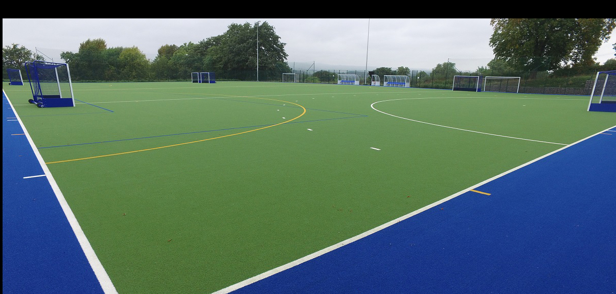 All Weather Hockey Pitch Construction, TigerTurf Evo Pro synthetic carpet