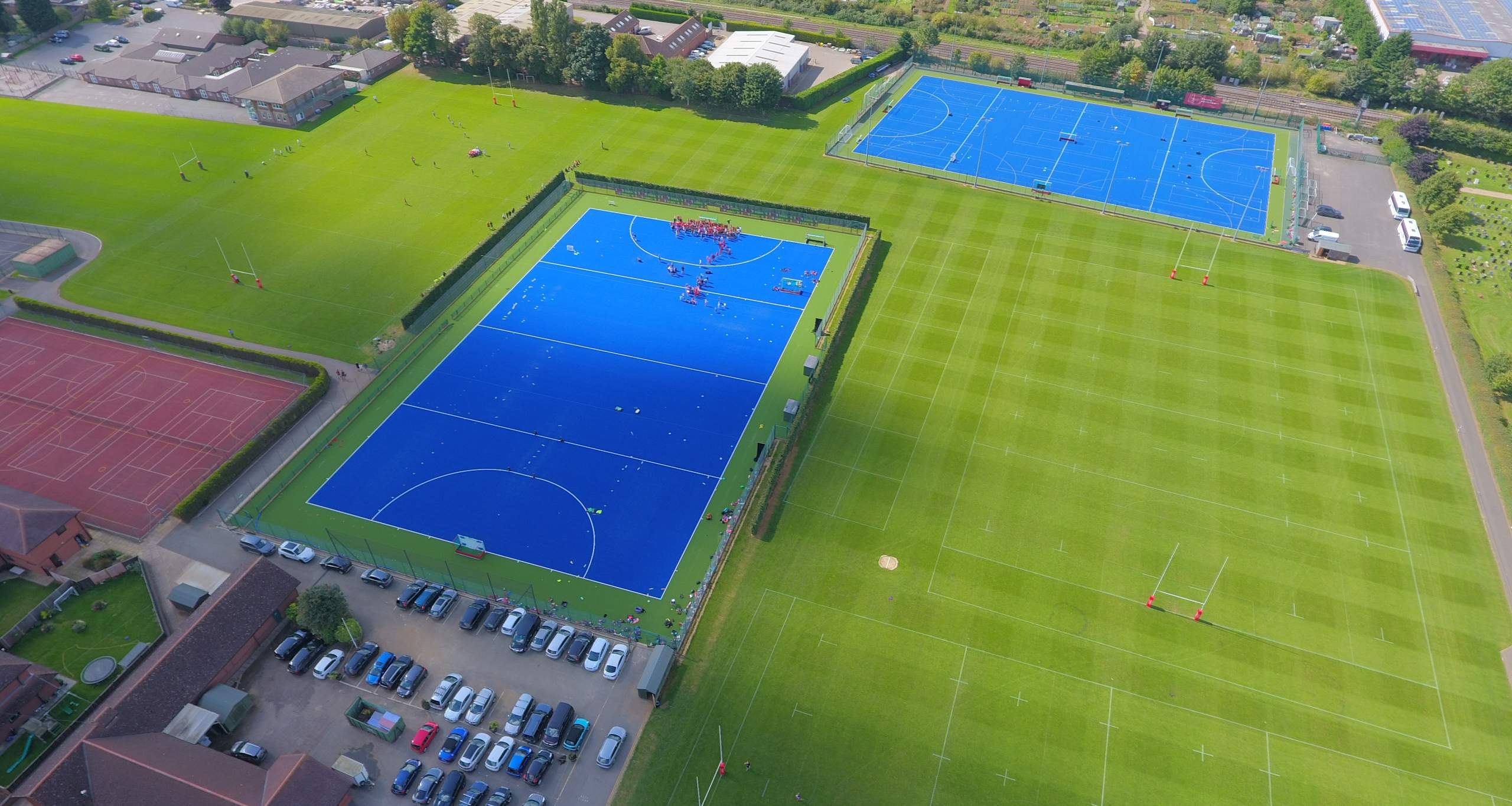Synthetic Hockey Pitch installation
