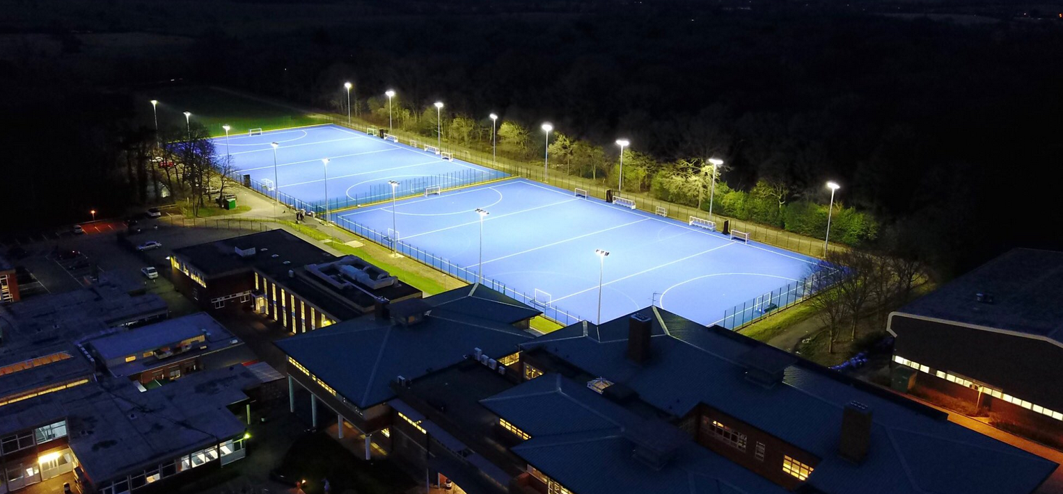 Double Hockey Pitch Installation