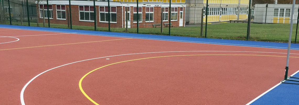 Multi Use Games Area, football, netball, hockey