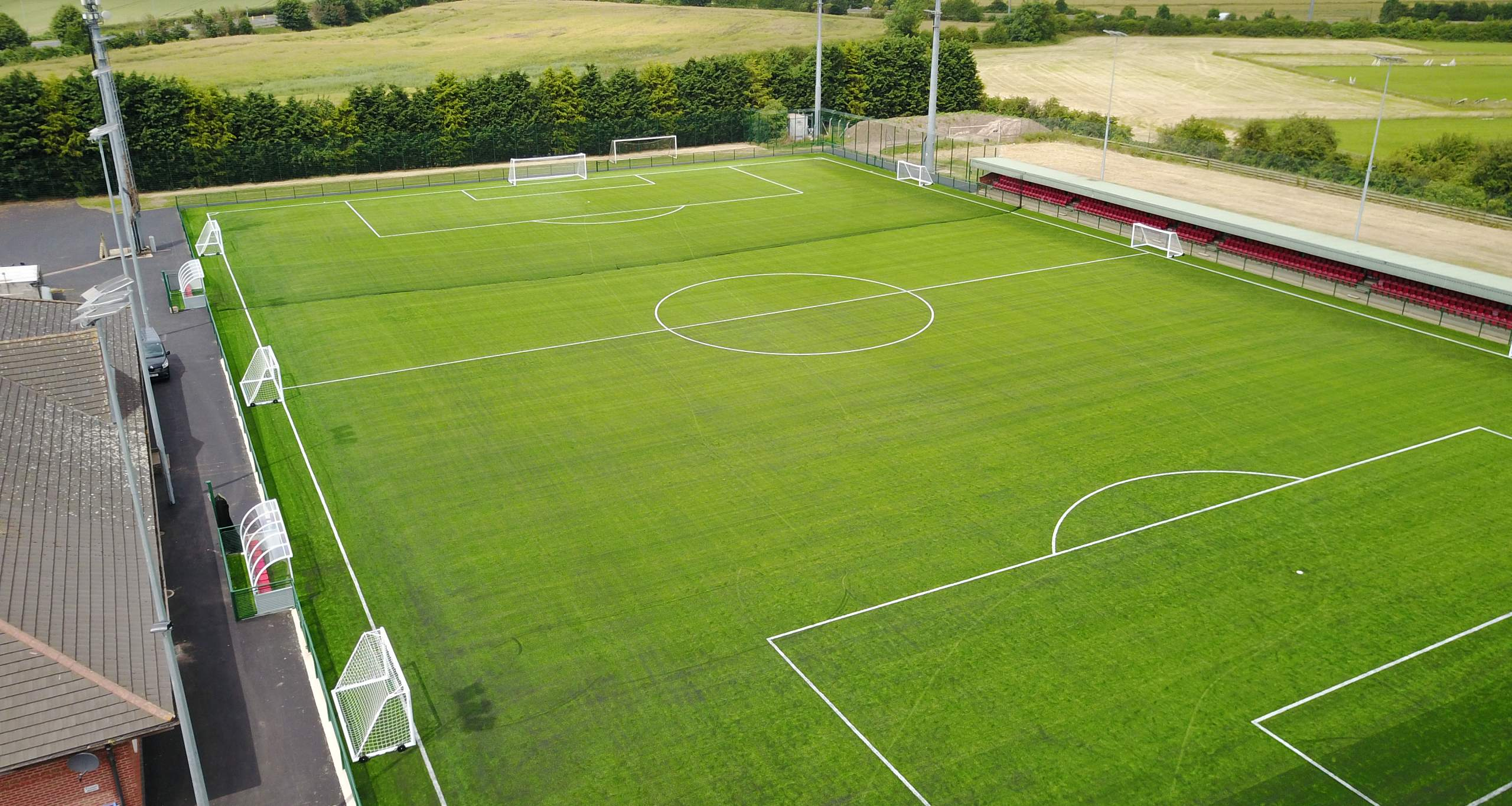 Upgrade of pitch to a 3G synthetic surface