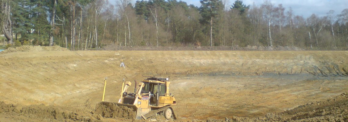 Royal Berkshire reservoir construction