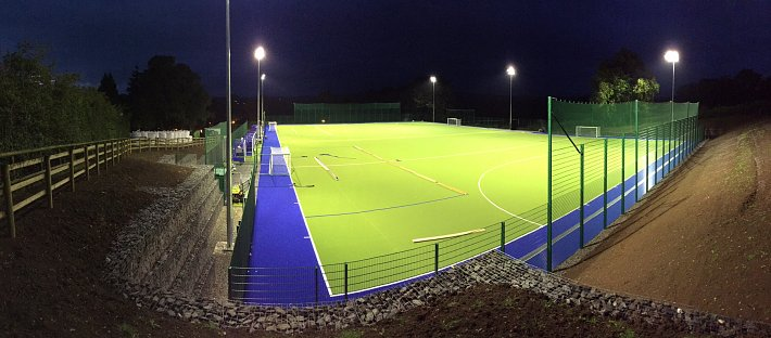 Floodlit all weather pitch