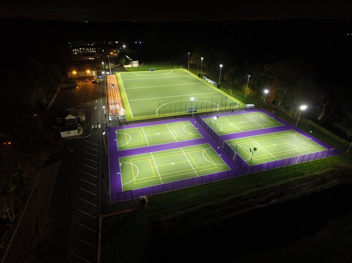 NOTRE DAME SCHOOL, COBHAM - Synthetic Hockey Pitch, Tennis Courts and  Running Track