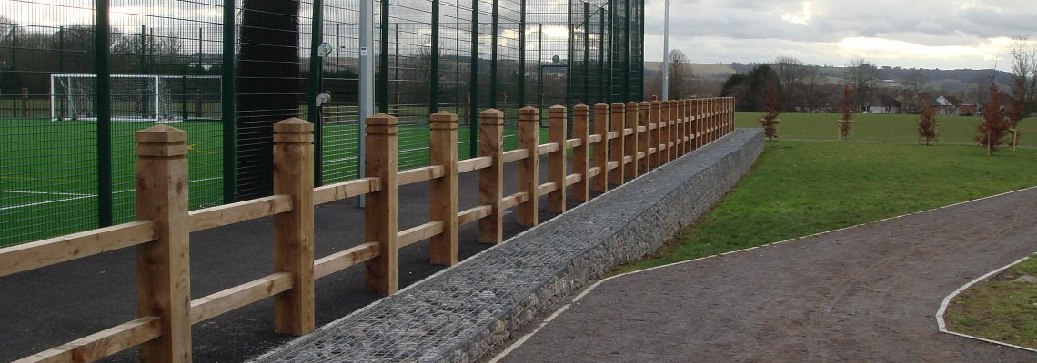 Fencing and gabion walls