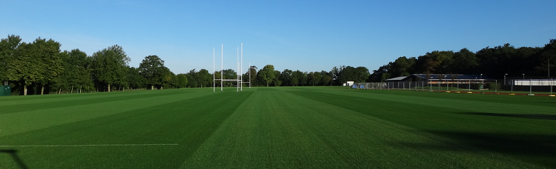 Rugby Sports pitch construction & drainage contract