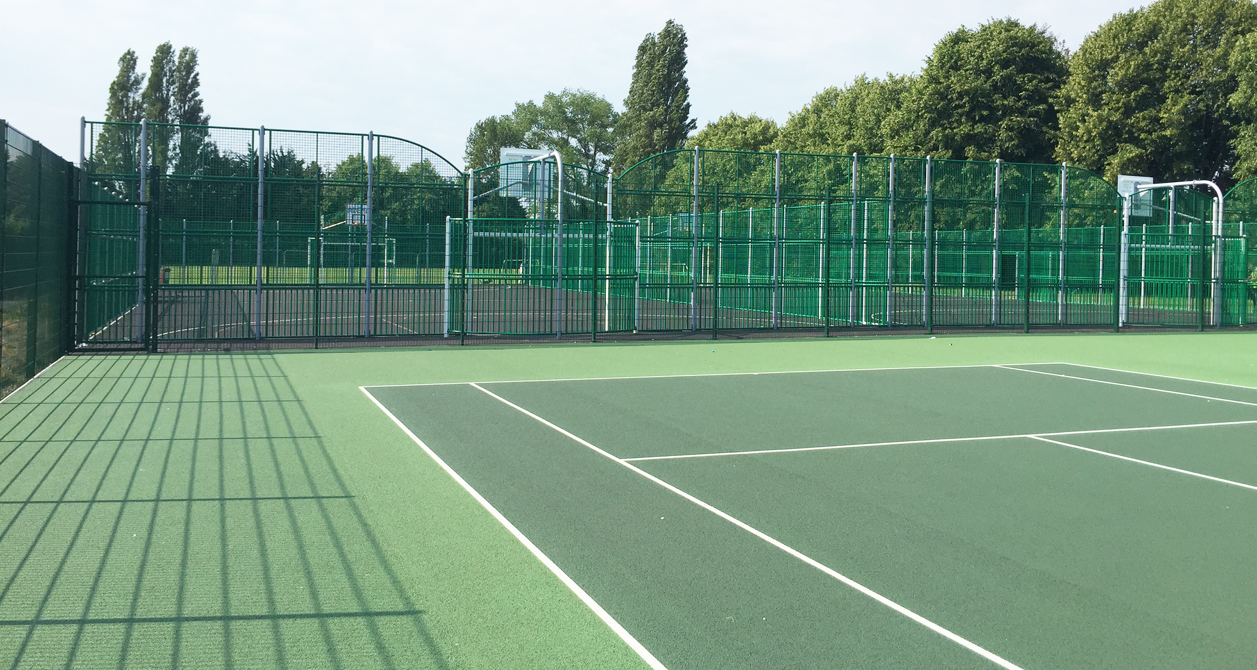Multi Use Games Area, MUGA, synthetic hockey pitch