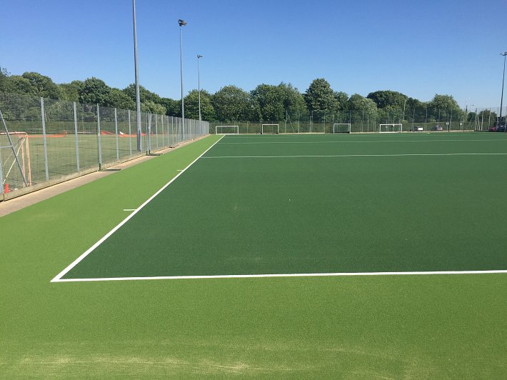 Resurface, all weather hockey pitch