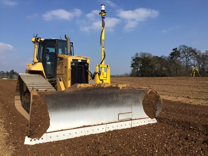 Caterpillar 3D guided bulldozer D6N LGP added to fleet