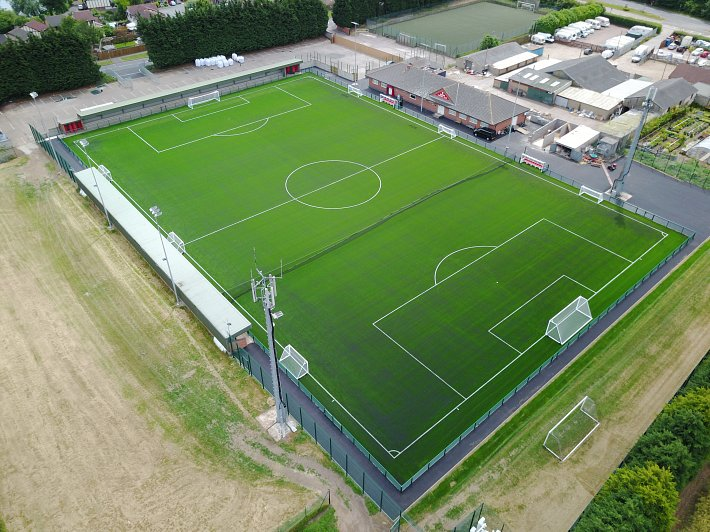 QUORN FC - Pitch upgrade to 3G Surface